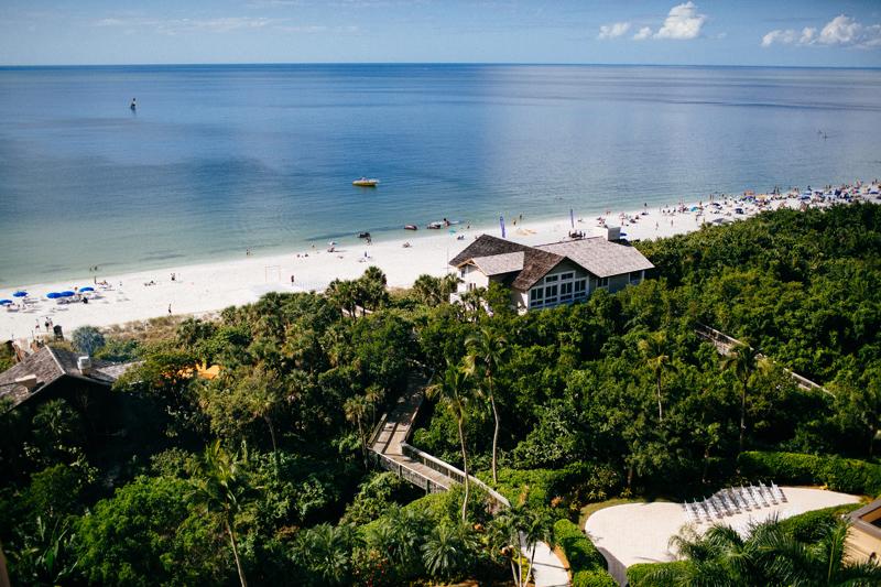st john virgin island destination wedding: lush greenery leading to blue ocean