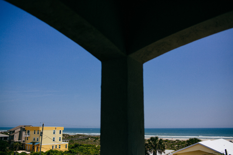 view of st augustine beach